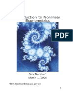 Nonlinear econometrics