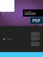 Aditi Technologies Brochure