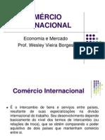 COMÉRCIO-INTERNACIONAL