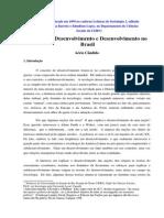 Teorias Do Desenvolvimento. Texto Publicado Em 1999 No Cader