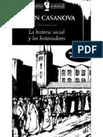 CASANOVA La Historia Social y Los Historiadores