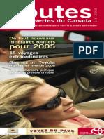 Routes Et Decouvertes Du Canada - Tele-Productions Mobile 2005