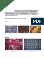 Jenis Batik Jawa