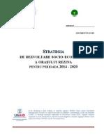 Draft Strategie Rezina