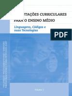orientações ensino médio portugues