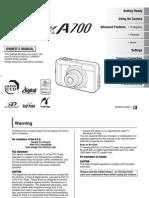 a700 e Manual