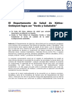 140330 Nota DS Xativa-Ontinyent Red Global de Hospitales Verdes y Saludables.pdf