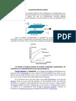 CLASIFICACIÓN DE FLUIDOS