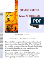 Fitness Coffee is the 1st patented healthy coffee, not substitute, not instant only real coffee