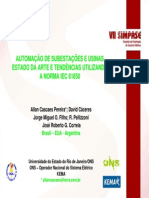 AUTOMAÇÃO USANDO A NORMA IEC 61850