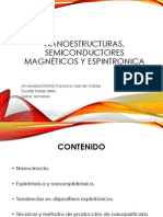 Nanoestructuras, semiconductores magnéticos y espintronica version