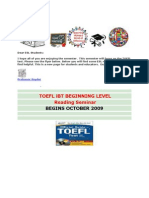 TOEFL Reading Writing and Listening Resources[1]