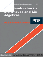 Introduction to Lie Groups and Lie Algebras