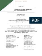 Amicus Brief of PRI, Cato, ACRU in King v Sebelius on March 10 2014