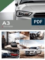 Ficha Técnica Audi A3