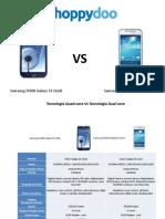 Precios moviles Samsung Quad core Dual core