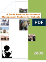 Performance Management Systems for Schools