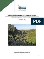 Canyon Enhancement Planning Guide -  Part 1