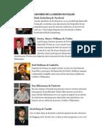 10 Fundadores de La Redes Sociales