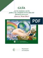 GIA PARA CATEQUESIS DE PADRES Y NIÑOS