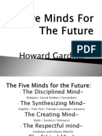 Five Minds for the Future Gardner Revised