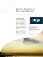 Business Analytics for Telecommunications