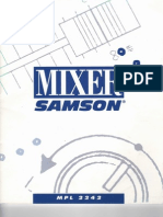 Samson MPL2224 Mixer Manual