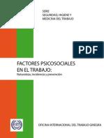 Factores Psicosociales en El Trabajo OIT-OMS