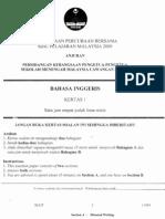 BAHASA INGGERIS KERTAS 1