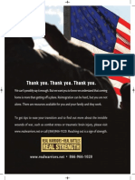 Real Warriors Campaign Print Ad