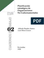 PlanificacionestrategicadeONGs Perez Coscio