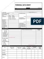 Csc Form 212 (Revised 2005)