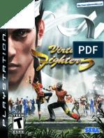 Virtua Fighter 5 - Manual - PS3