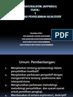 Epistemologi Penyelidikan Kualitatif