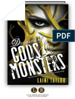 Dreams of Gods & Monsters by Laini Taylor [SAMPLE]