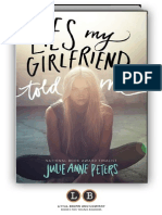 Lies My Girlfriend Told Me by Julie Anne Peters [SAMPLE]