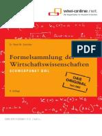WiWi Formelsammlung BWL