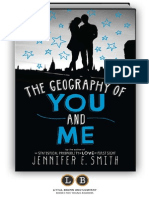 The Geography of You and Me by Jennifer E. Smith [SAMPLE]