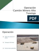 Operacion Camion Minero