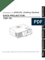 Projector Manual 3132