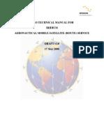 Aeronautical Mobile Satellite (ROUTE) Service