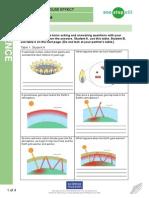 Green House Effect Worksheet