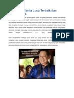 Kumpulan Cerita Lucu Terbaik Dan Singkat 2014