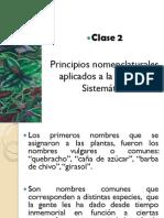Clase2.Nomenclatura botánica