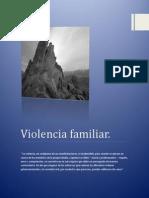 Violencia Familiar Proyecto