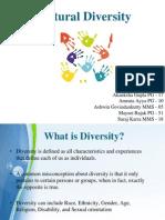 Cultural Diversity Final