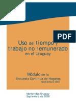 16. INE Uruguay 2008 Folleto de Uso de Tiempo