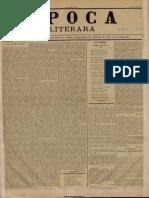 Epoca Literara, 3 Iunie 1896