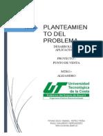 Planteamiento Del Problema de Un Software