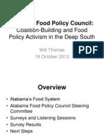 Alabama Food Policy Council